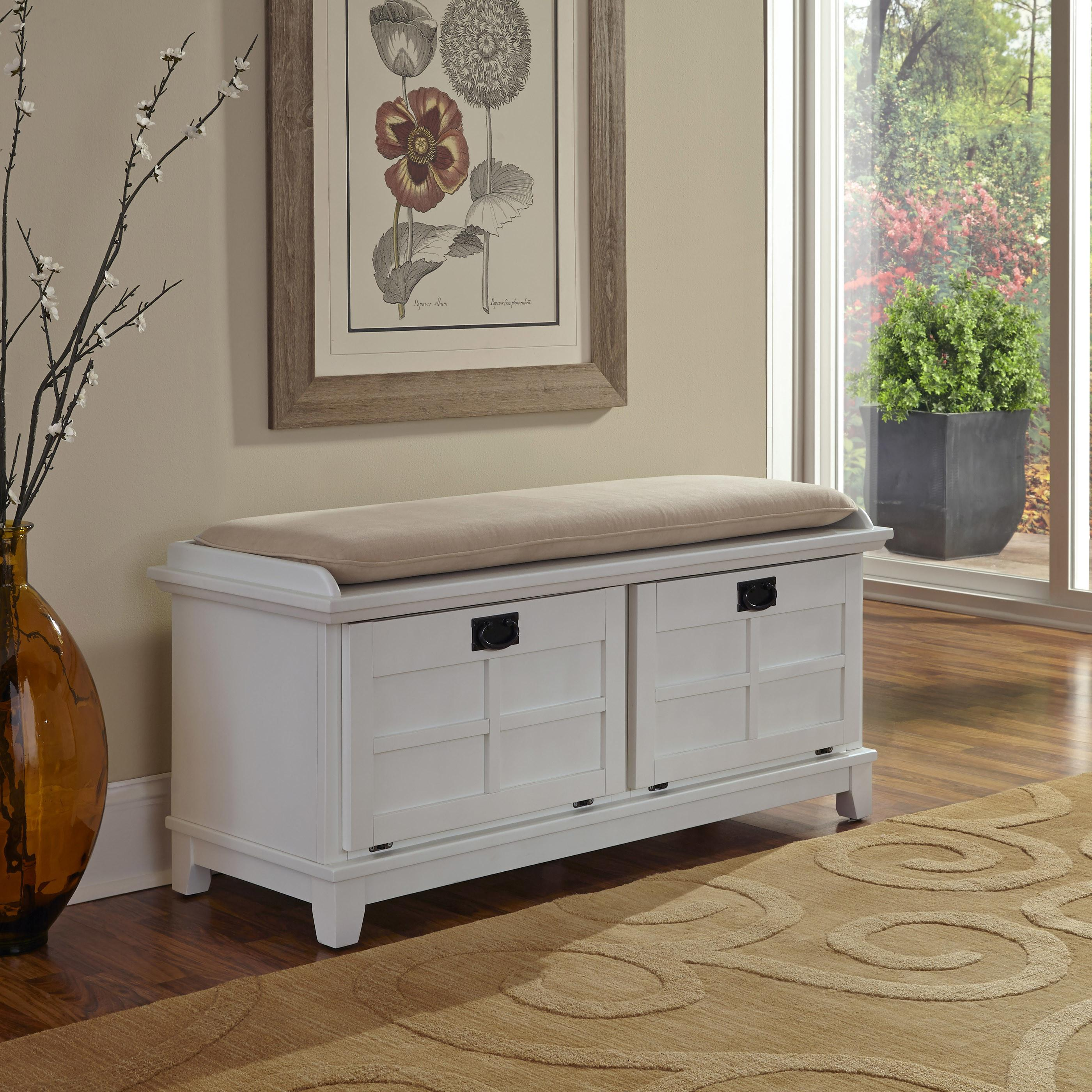 Alcott Hill Lakeview Wood Storage Entryway Bench