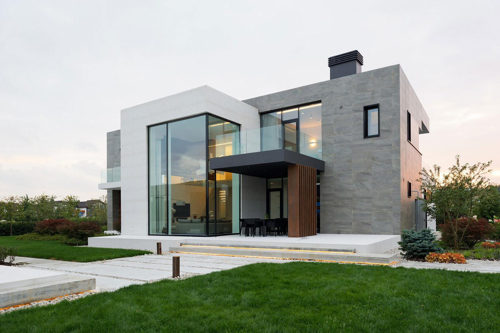 Alexandra Fedorova Designs Elegant Contemporary House