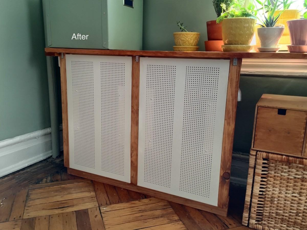 Algot Radiator Cover Hackers