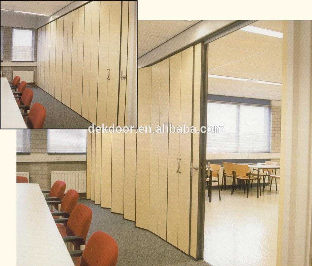 Alibaba Supplier Commercial Folding Pvc Partition Wall