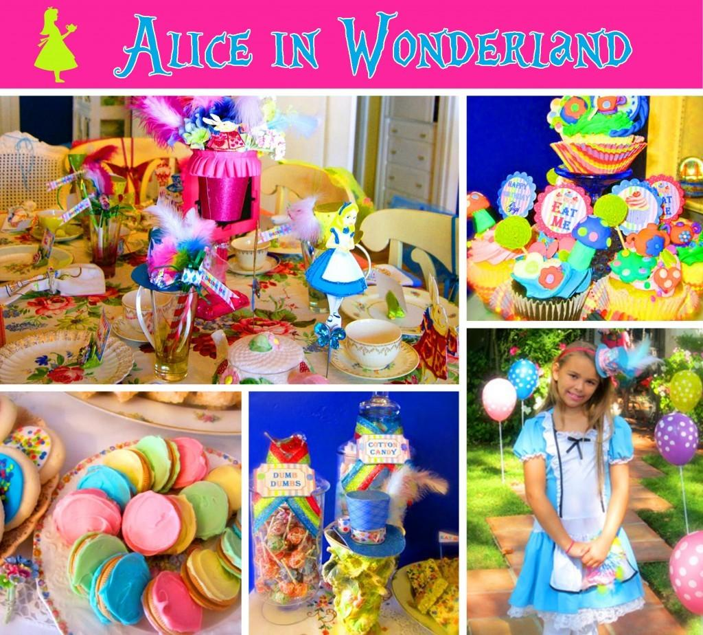 Alice Wonderland Party
