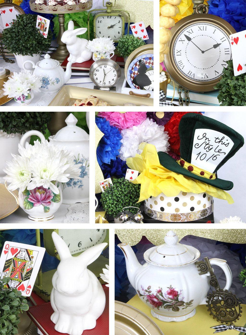 Alice Wonderland Party Ideas Birthday Box