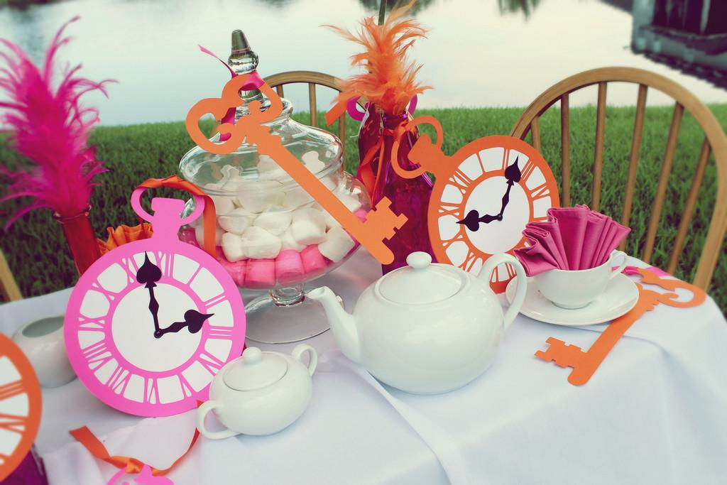 Alice Wonderland Party Ideas Tea
