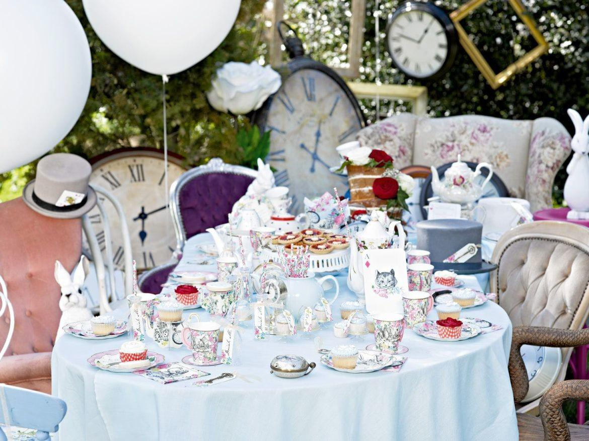 Alice Wonderland Theme Party Ideas Mad Hatter