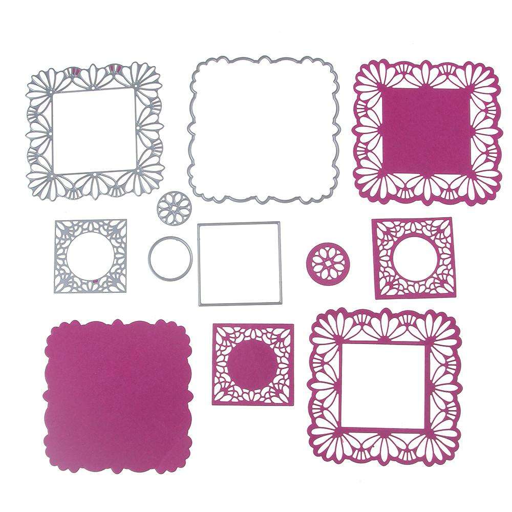 Aliexpress Buy 102 102mm Scrapbooking Diy Lace Frame