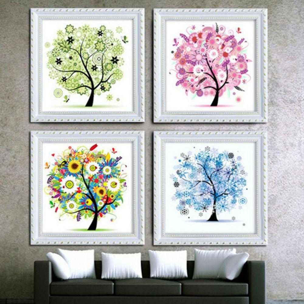 Aliexpress Buy 2017 New Diamond Diy Tree Mosaic