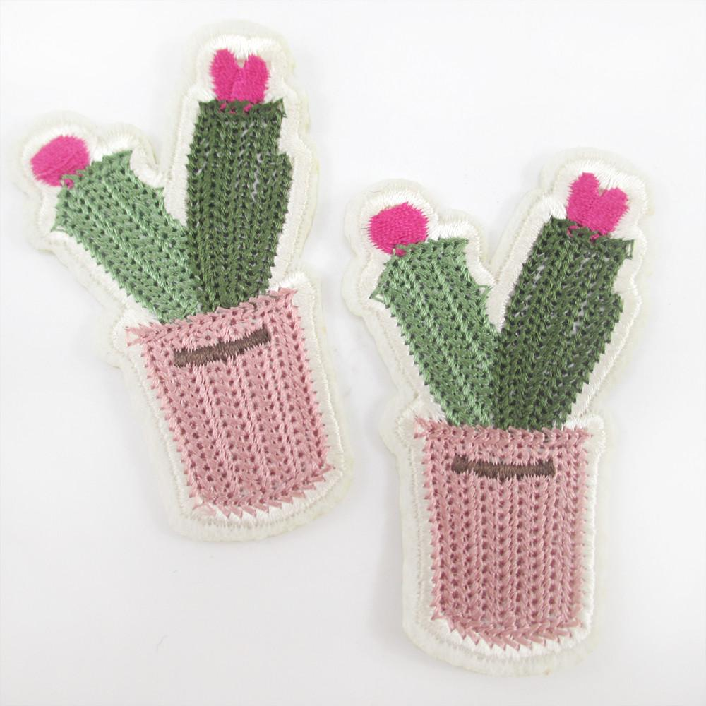 Aliexpress Buy 40mm Cactus Embroidery Patch High