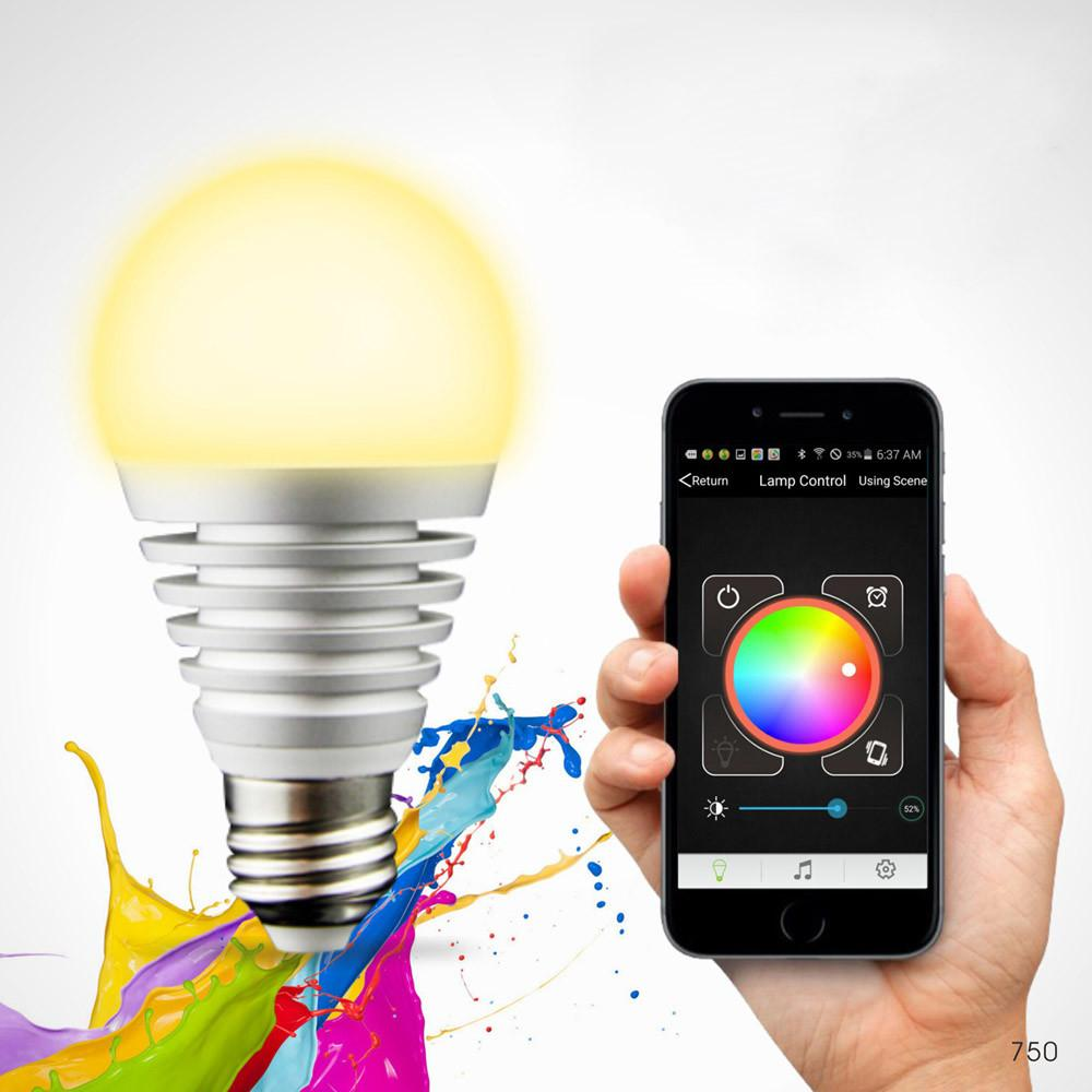 Aliexpress Buy Bluetooth Led Rgb Smart Light E27