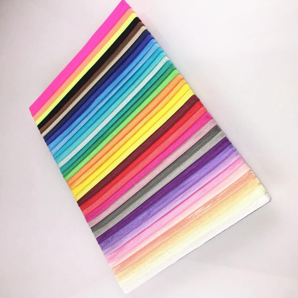 Aliexpress Buy Colors Baby Shiny Thin Elastic