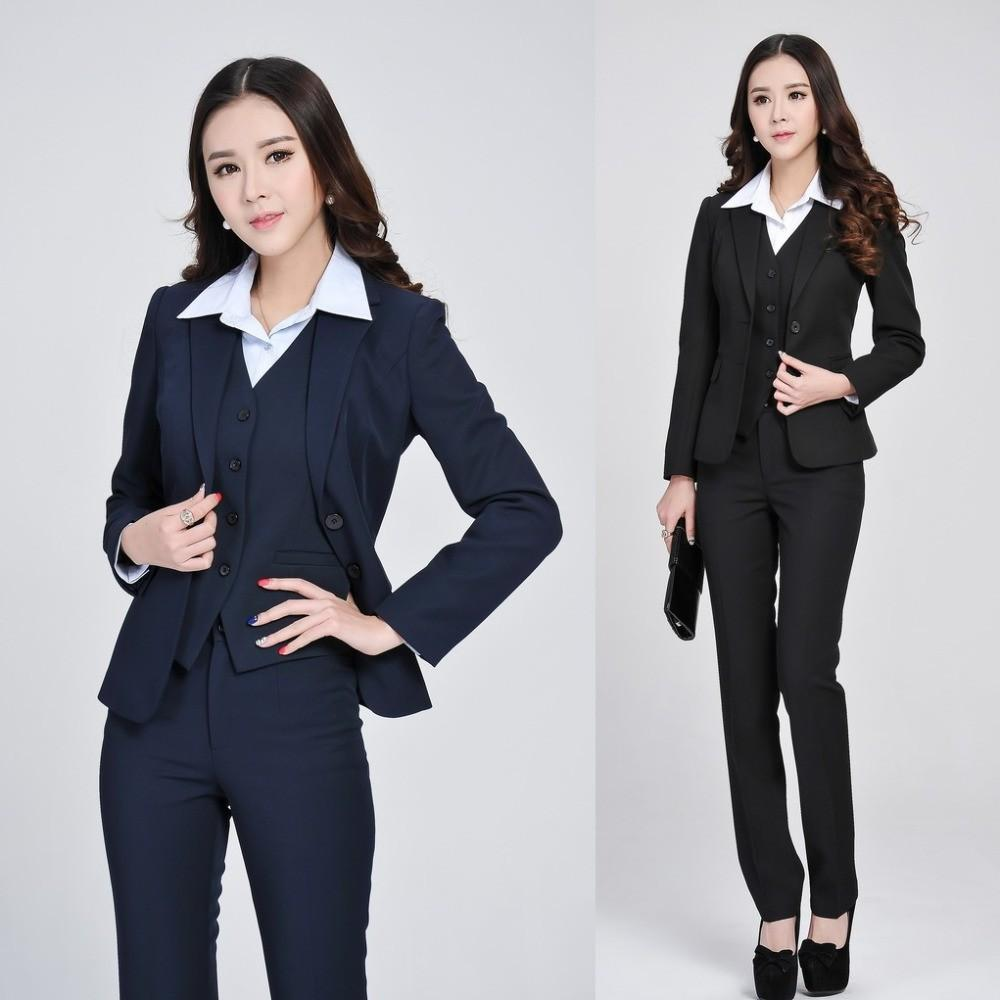 Aliexpress Buy Formal Women Business Suits Pant