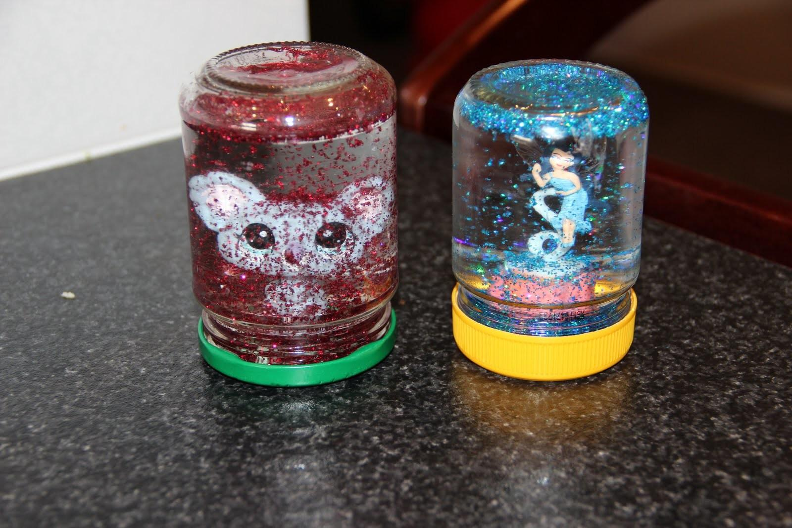 All Day Homemade Snow Globes