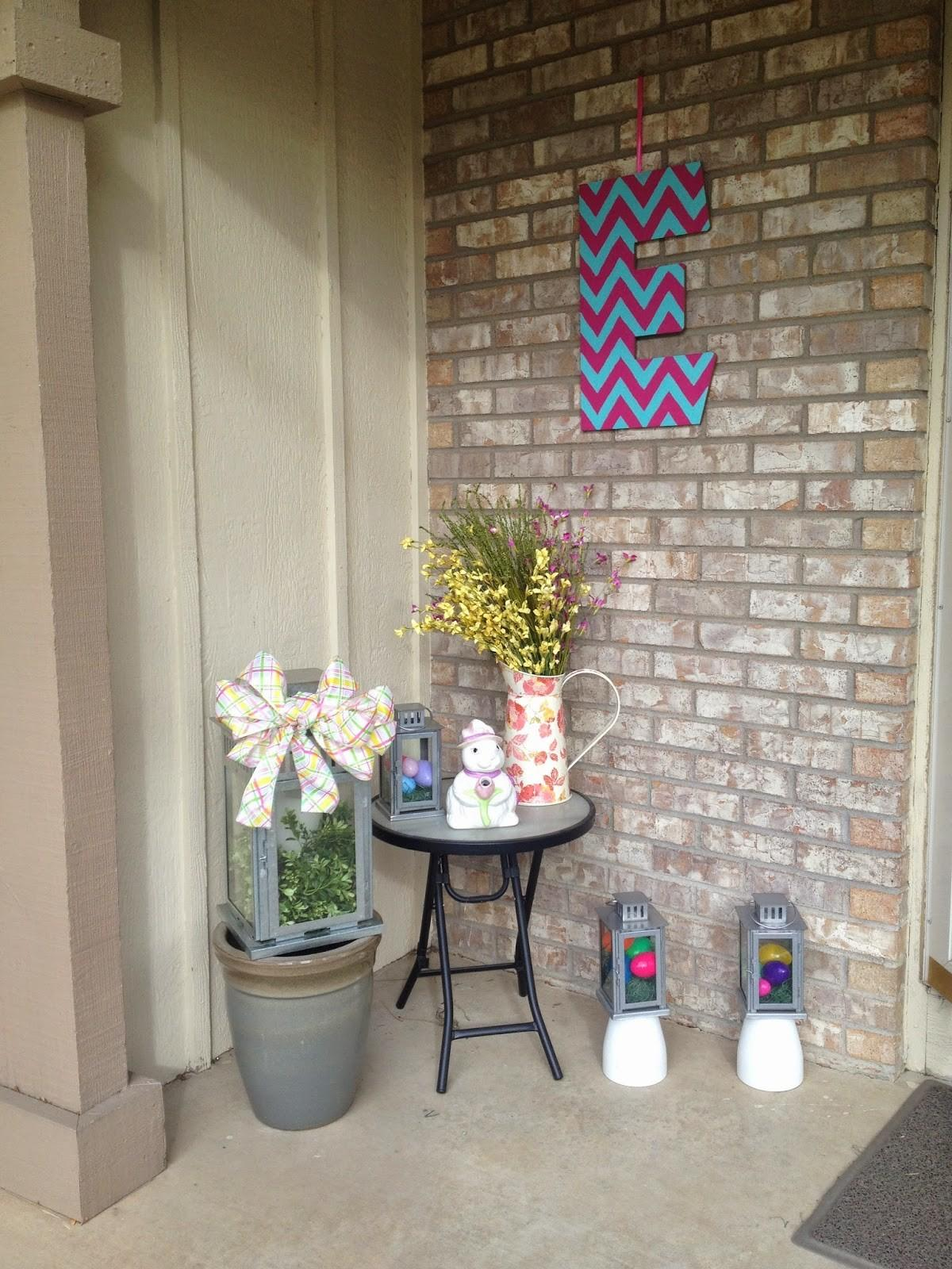 All Great Ideas Really Spring Porch