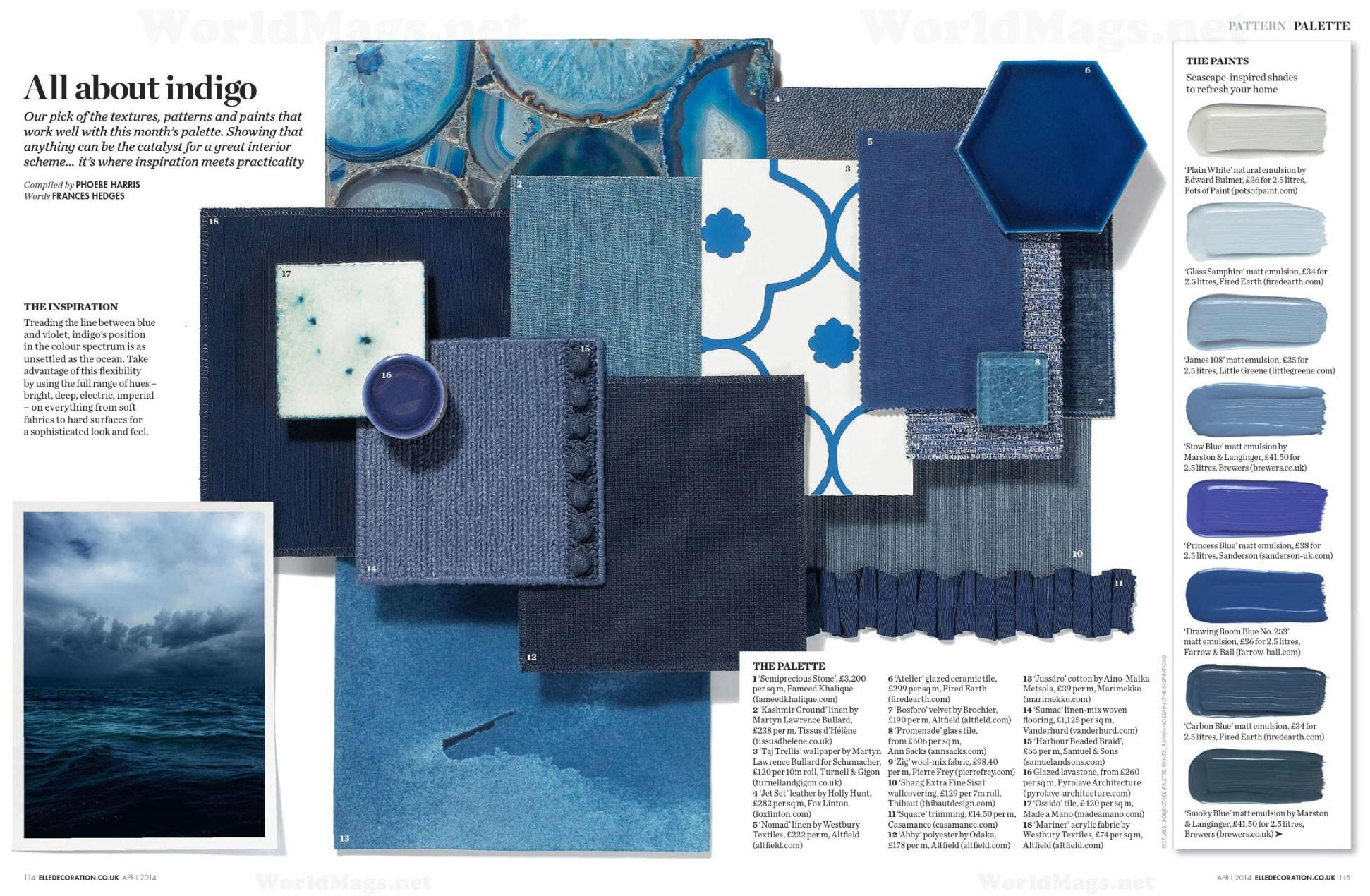 All Indigo Interiors Color