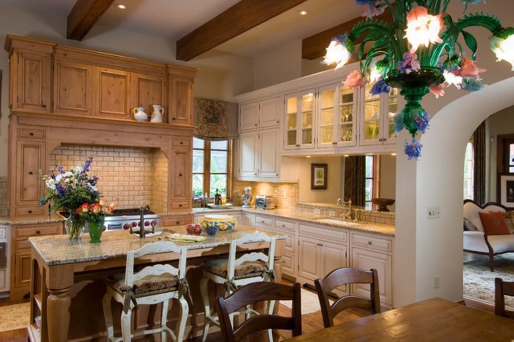 All Mediterranean Italian Kitchen Home Design