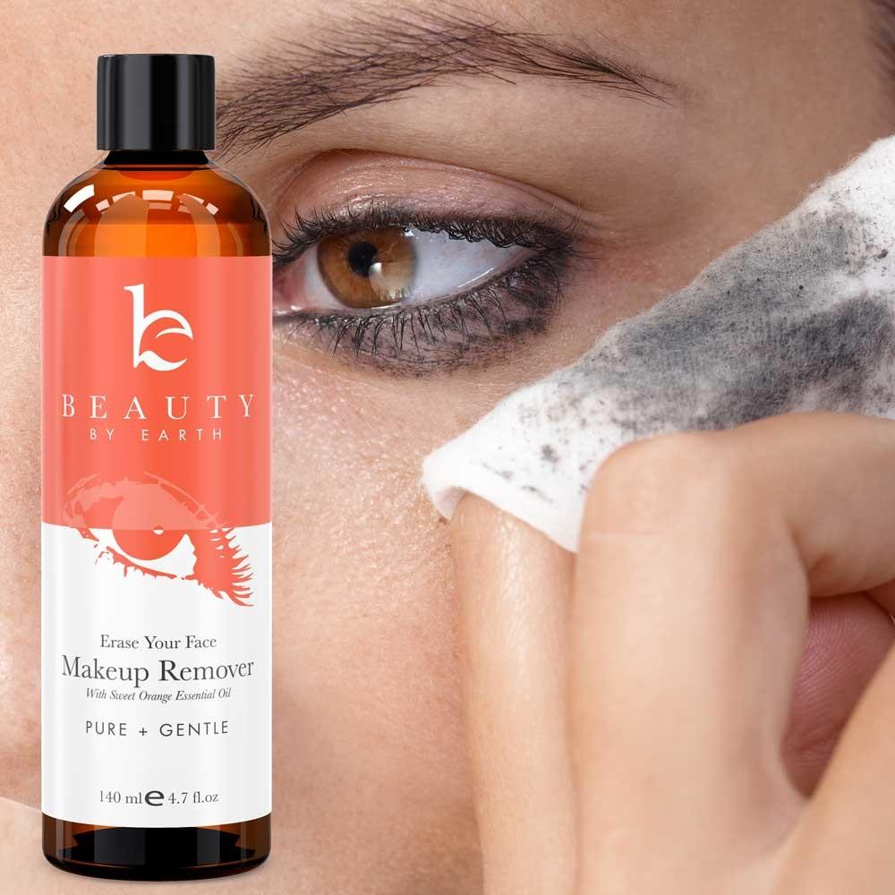 All Natural Makeup Remover Pads Gently Wipe Away