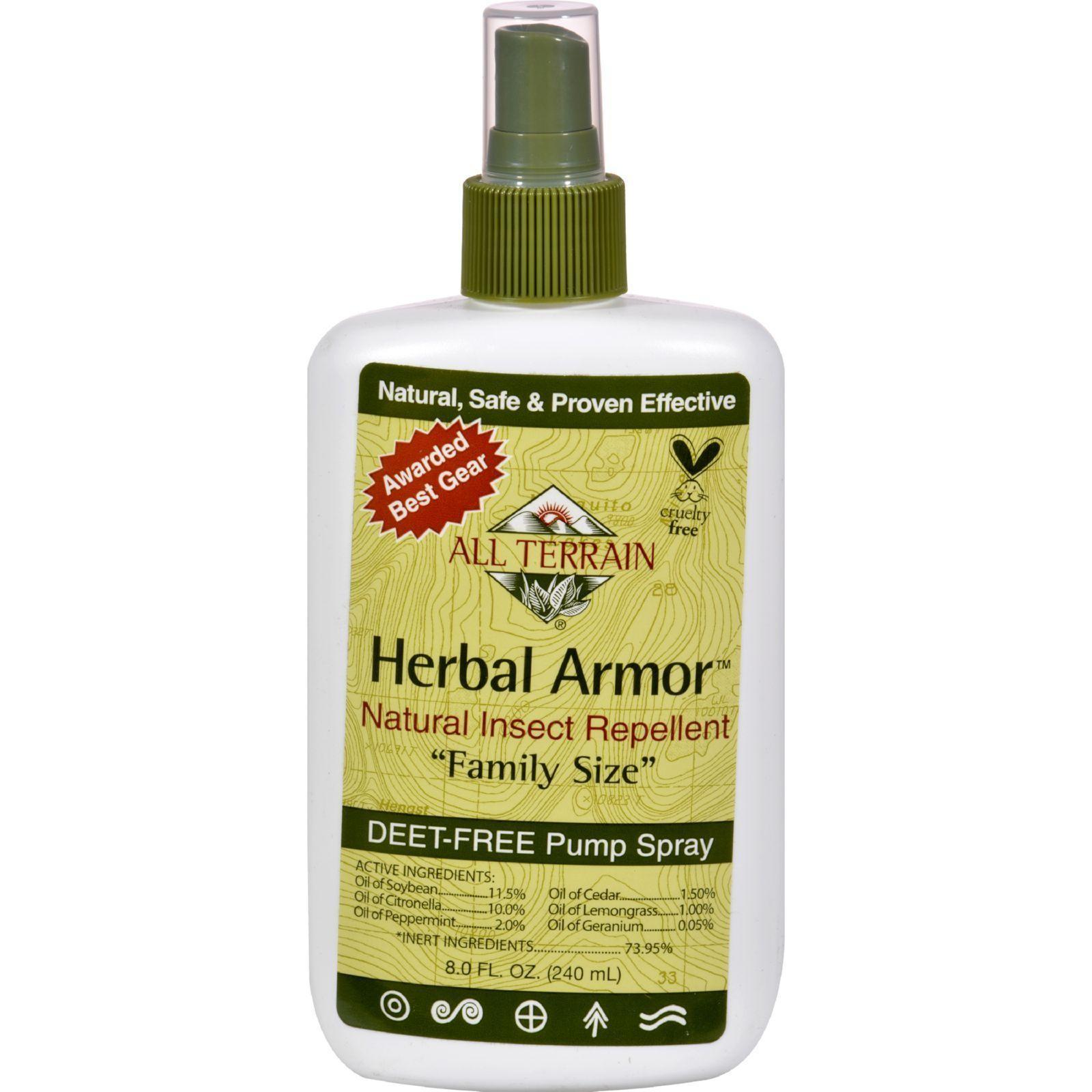 All Terrain Herbal Armor Natural Insect Repellent Family