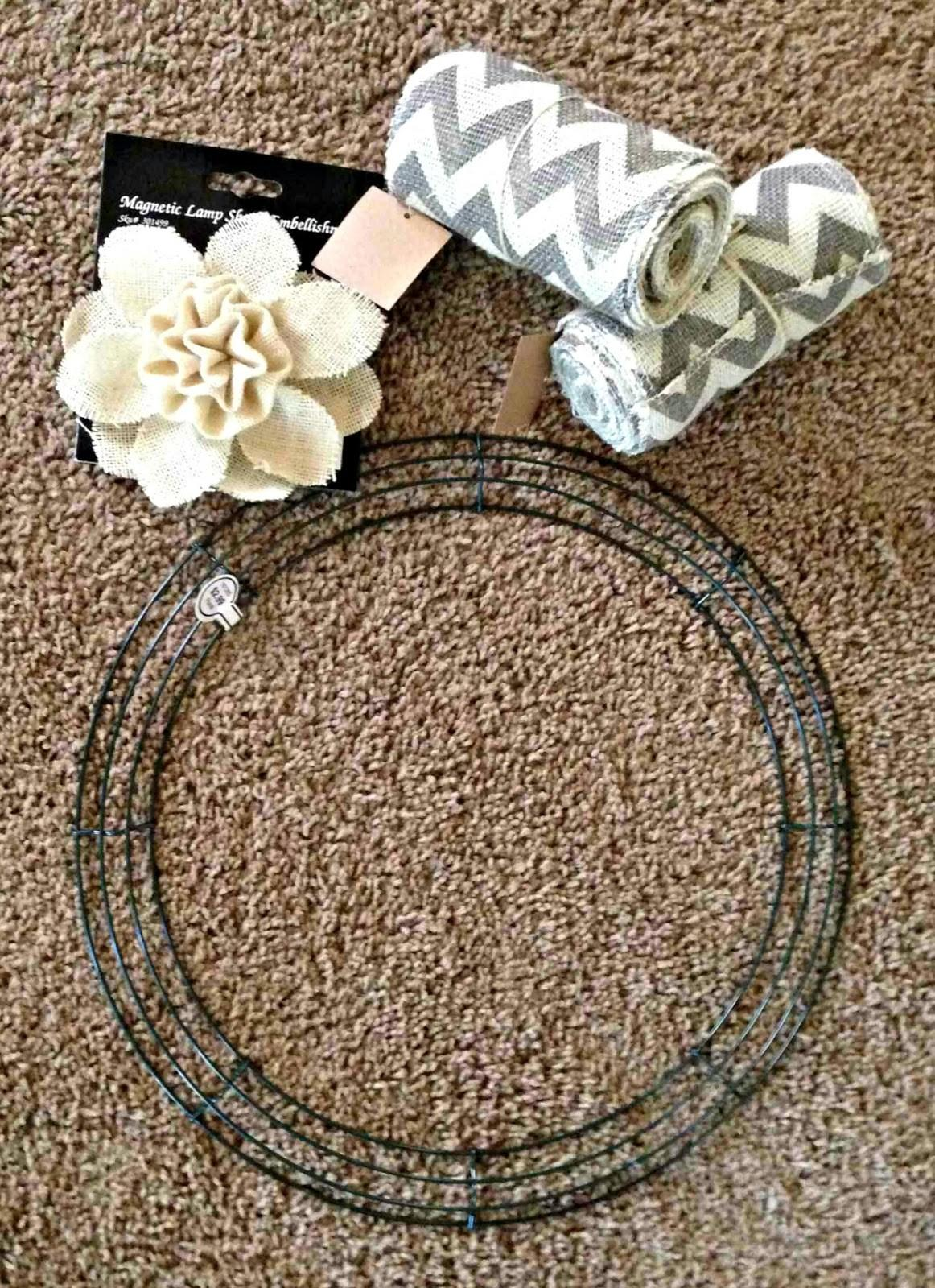 All Things Katie Marie Diy Burlap Wreath