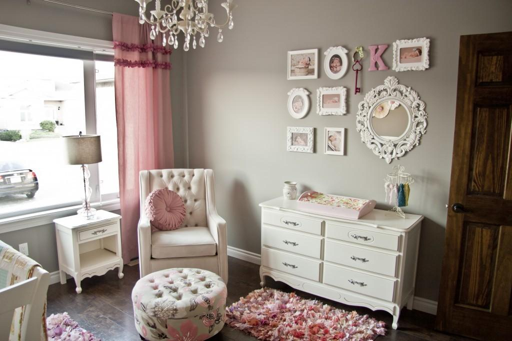 All Things Pink Girly Finally Project Nursery