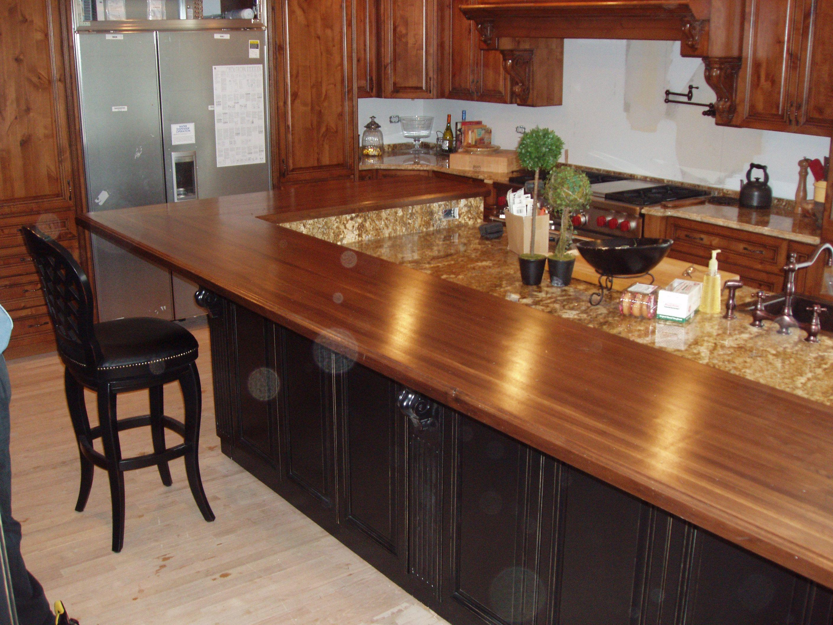 All Wood Kitchen Countertops Have Know