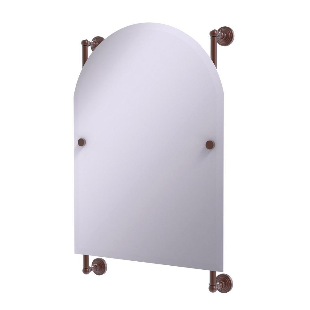 Allied Brass Waverly Place Collection Arched Top Frameless