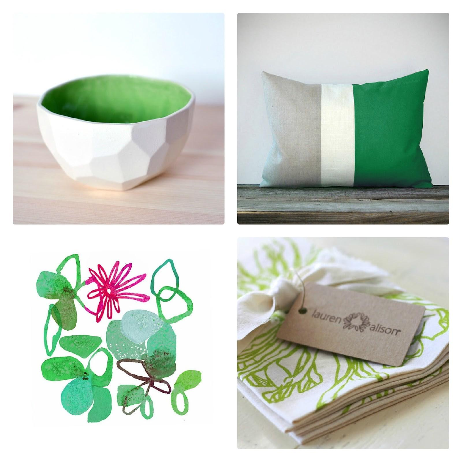 Allisa Jacobs Emerald Home Fresh Finds Weekend