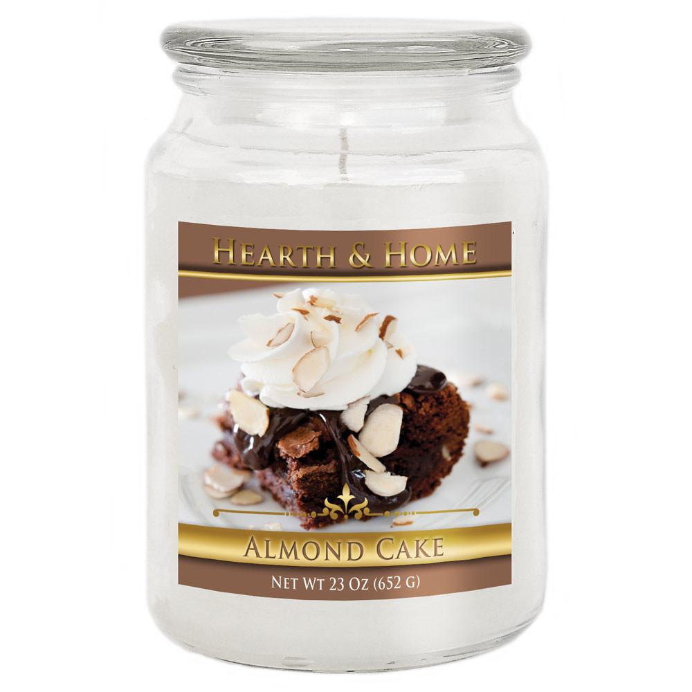 Almond Cake Large Jar Candle Hearth Home Company