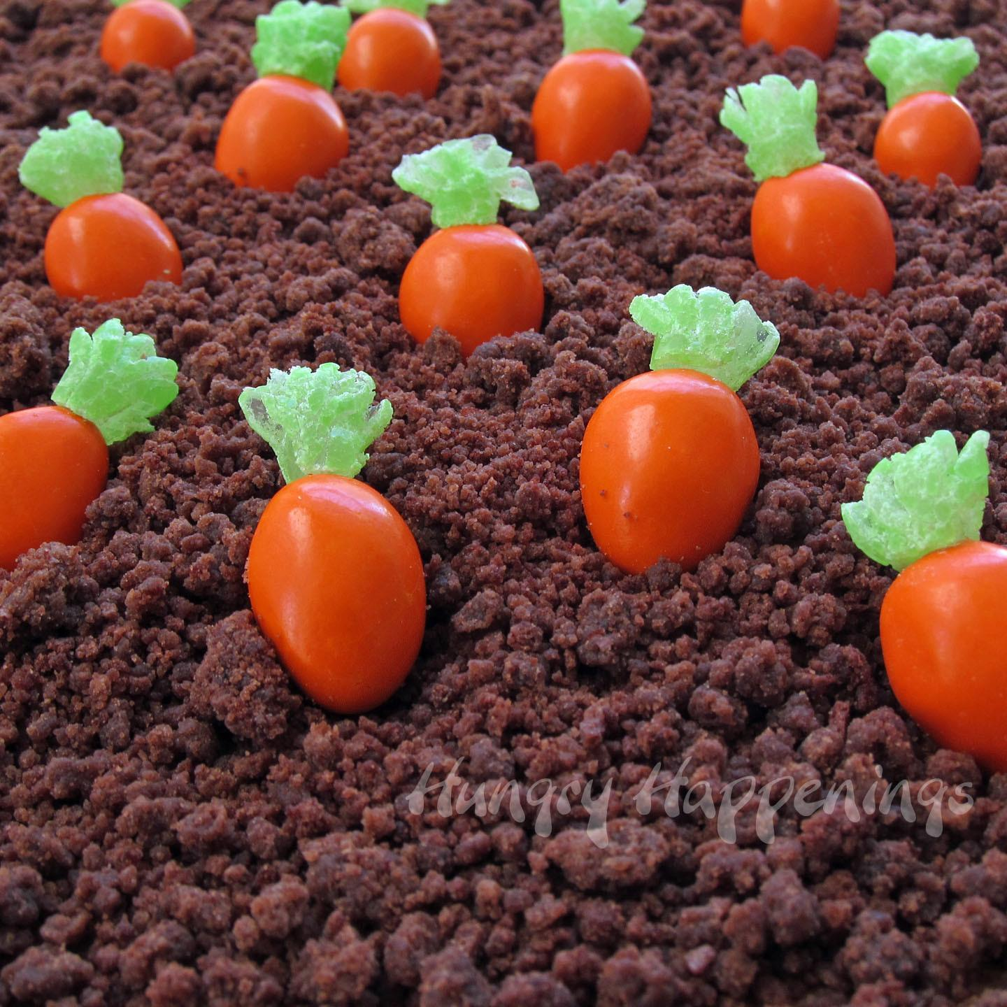 Almond Candy Carrots Hungry Happenings Easter Recipes