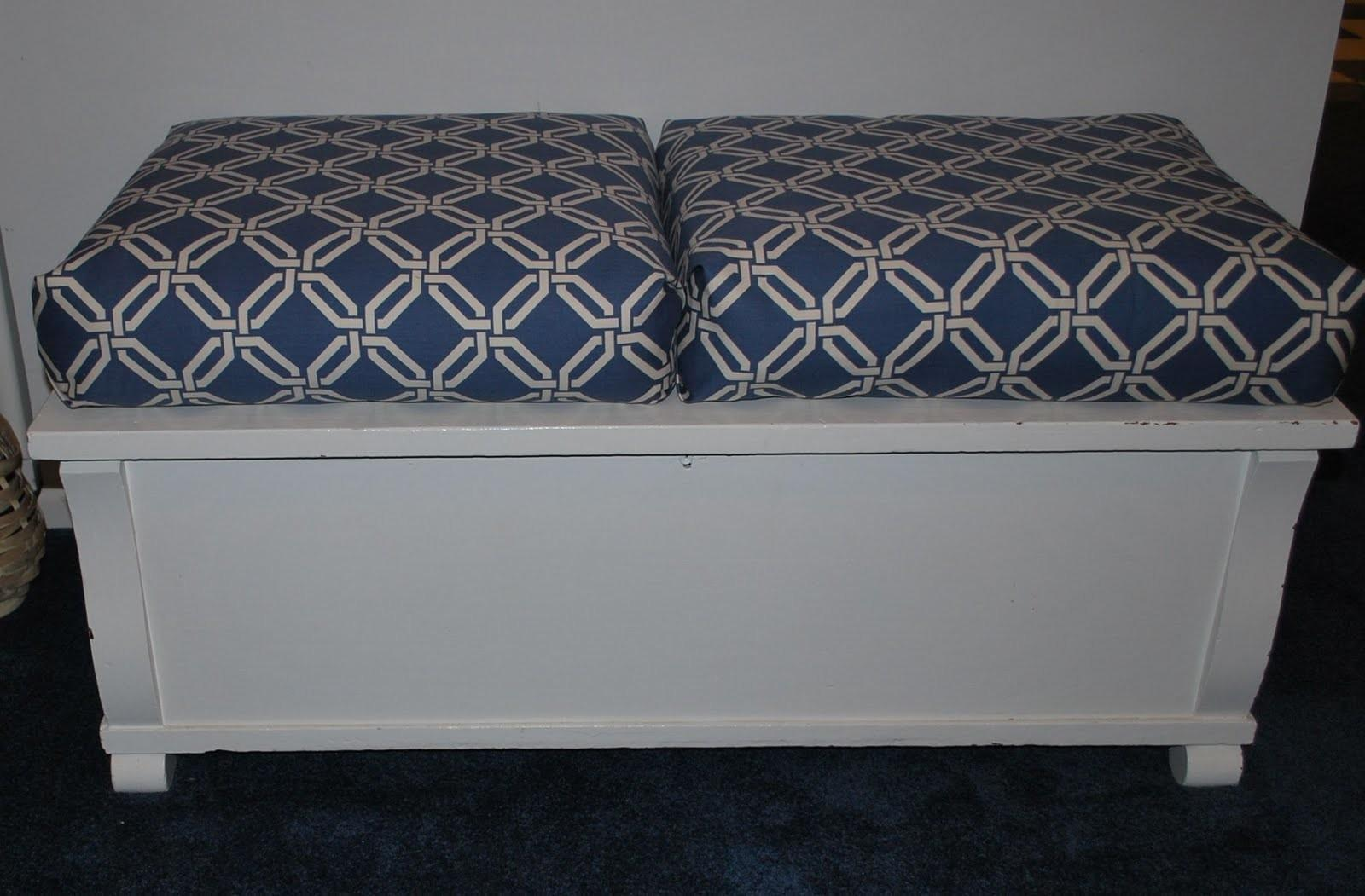 Almost Sew Box Cushions Sweetwater Style