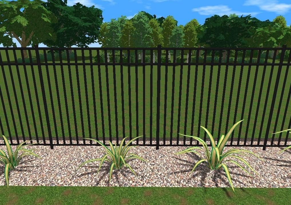 Aluminum Privacy Fence Design Ideas
