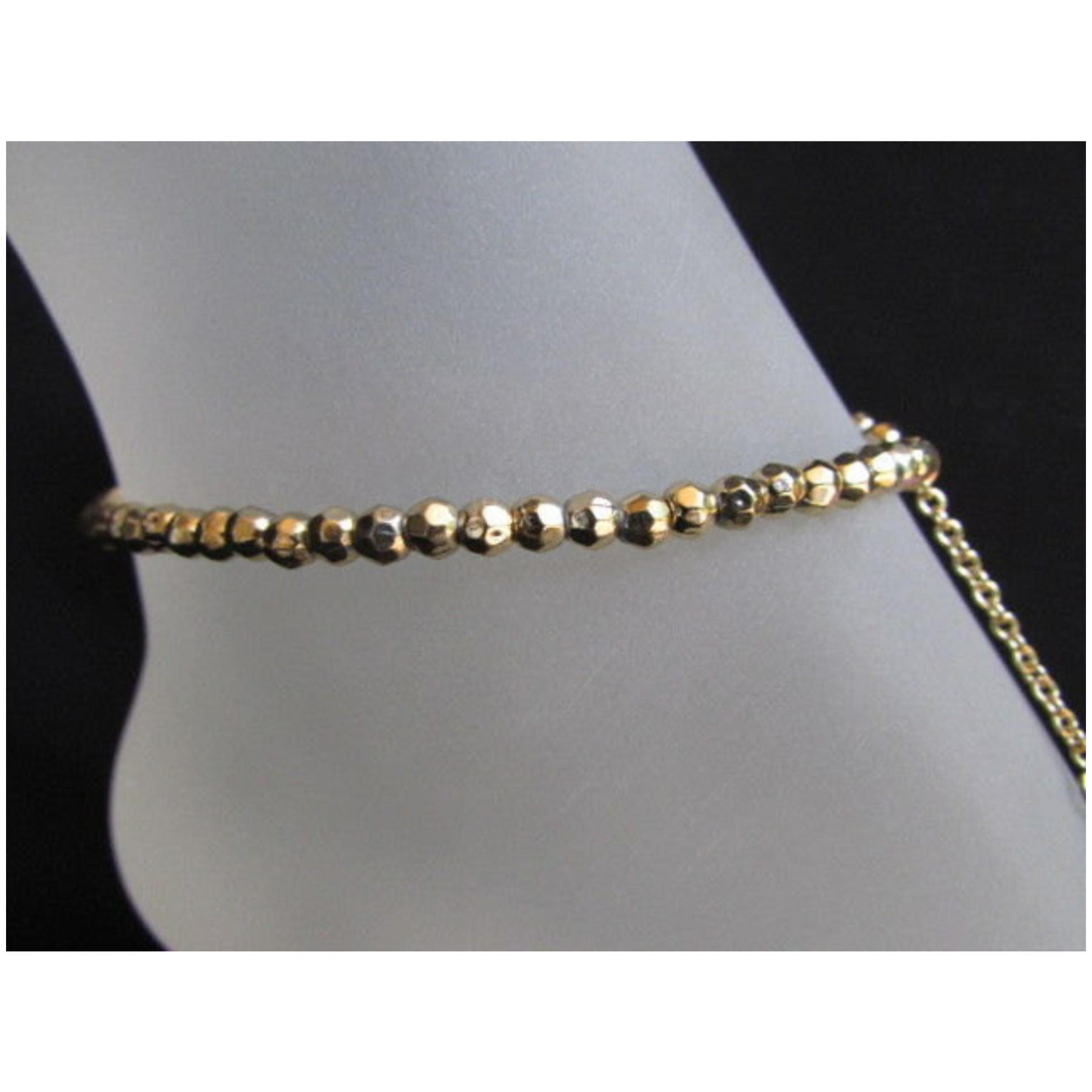 Alwaystyle4you Gold Metal Casual Trendy Fashion Anklet