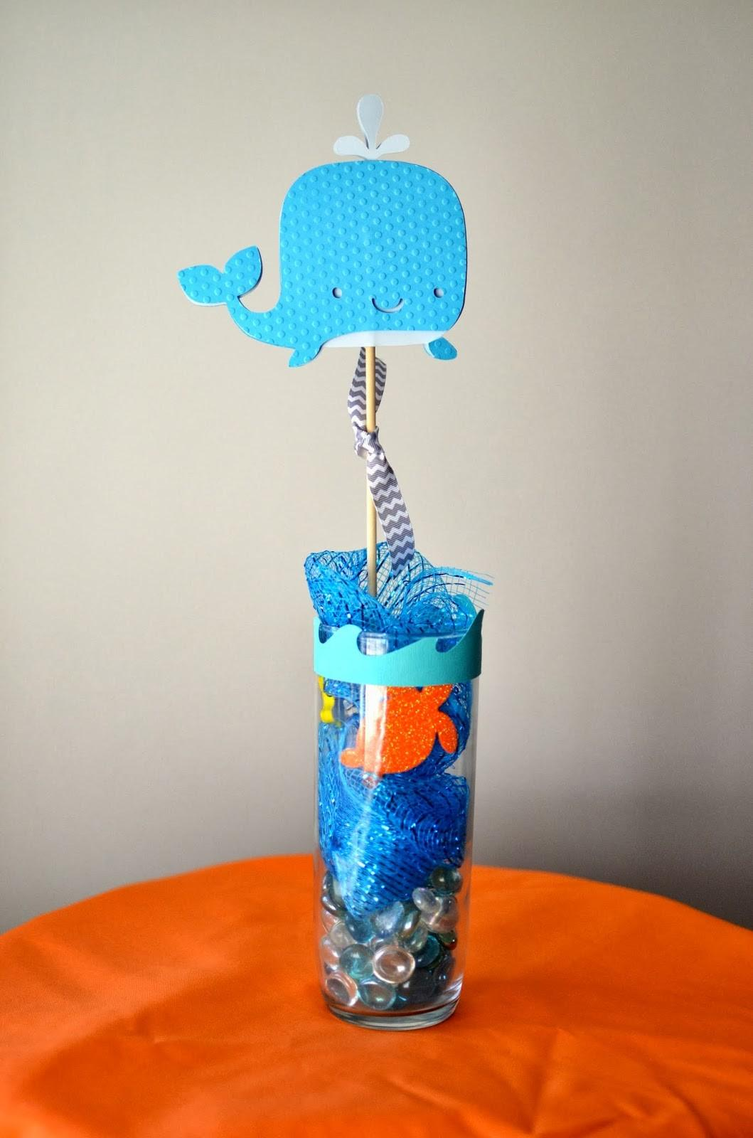 Amanda Sarver Lacey Whale Theme Baby Shower Blog