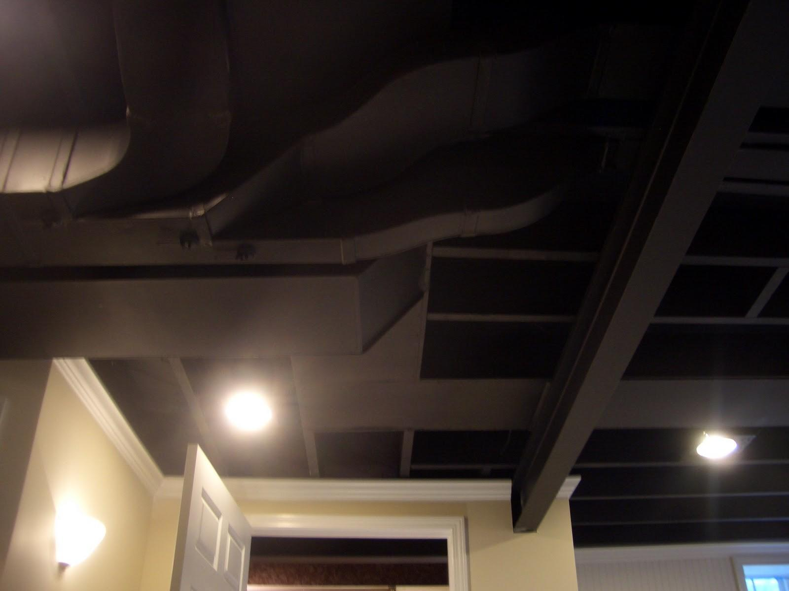 Amazing Basement Ceiling Ideas