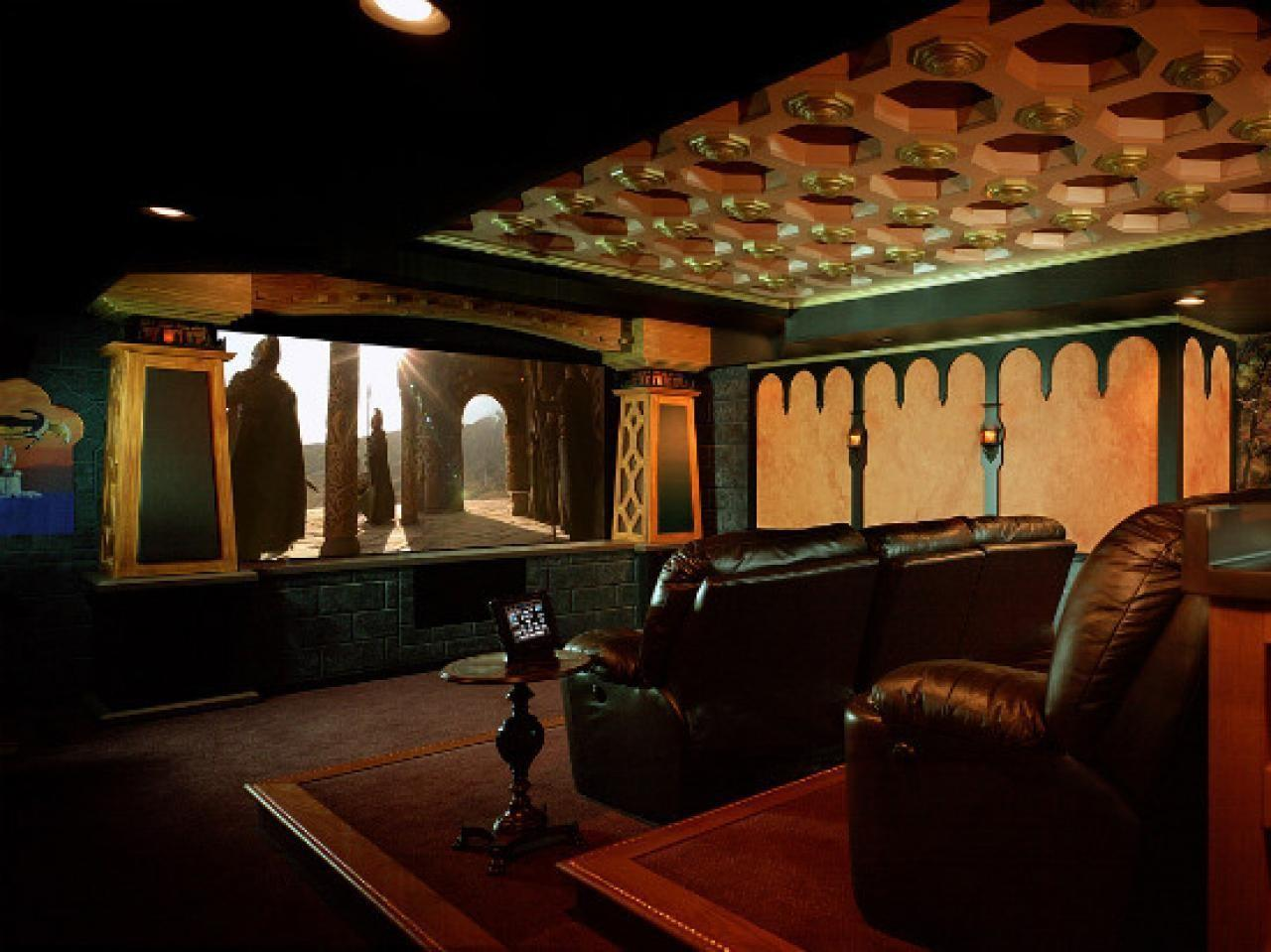 Amazing Basement Home Theatre Ideas Wow