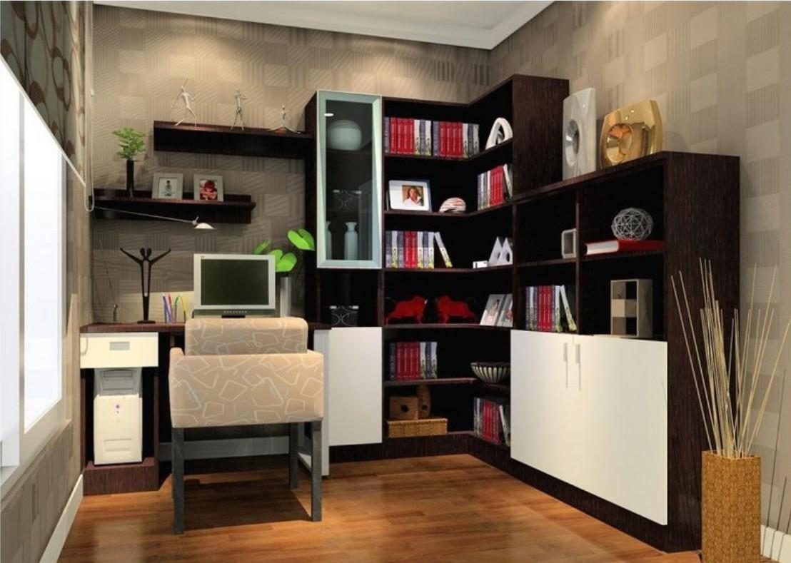 Amazing Book Shelf Small Office Ideas Sweet