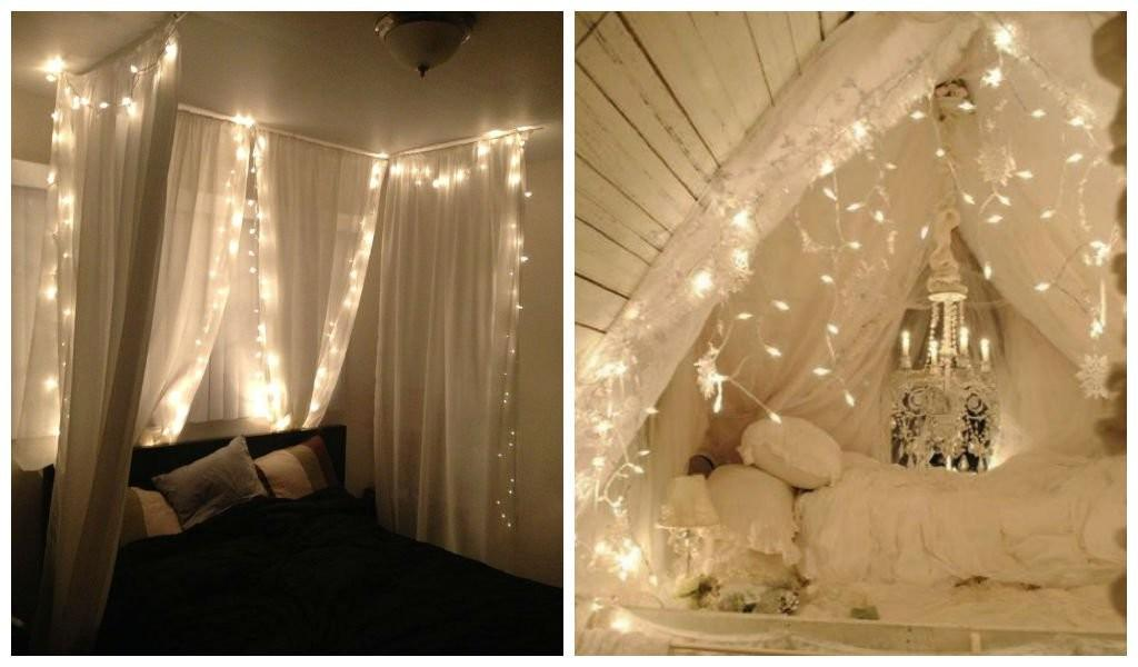 Amazing Canopies String Lights Ideas