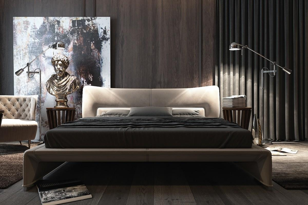 Amazing Dark Bedroom Interior Design Roohome Designs