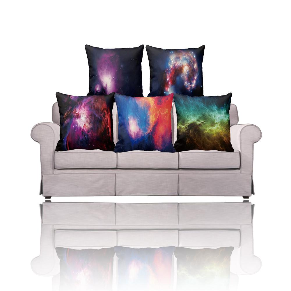 Amazing Design Nebula Galaxy Throw Pillow Cover Custom