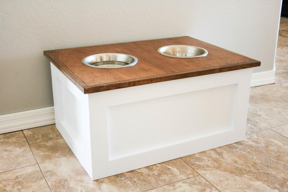 Amazing Diy Dog Feeding Stations Storage