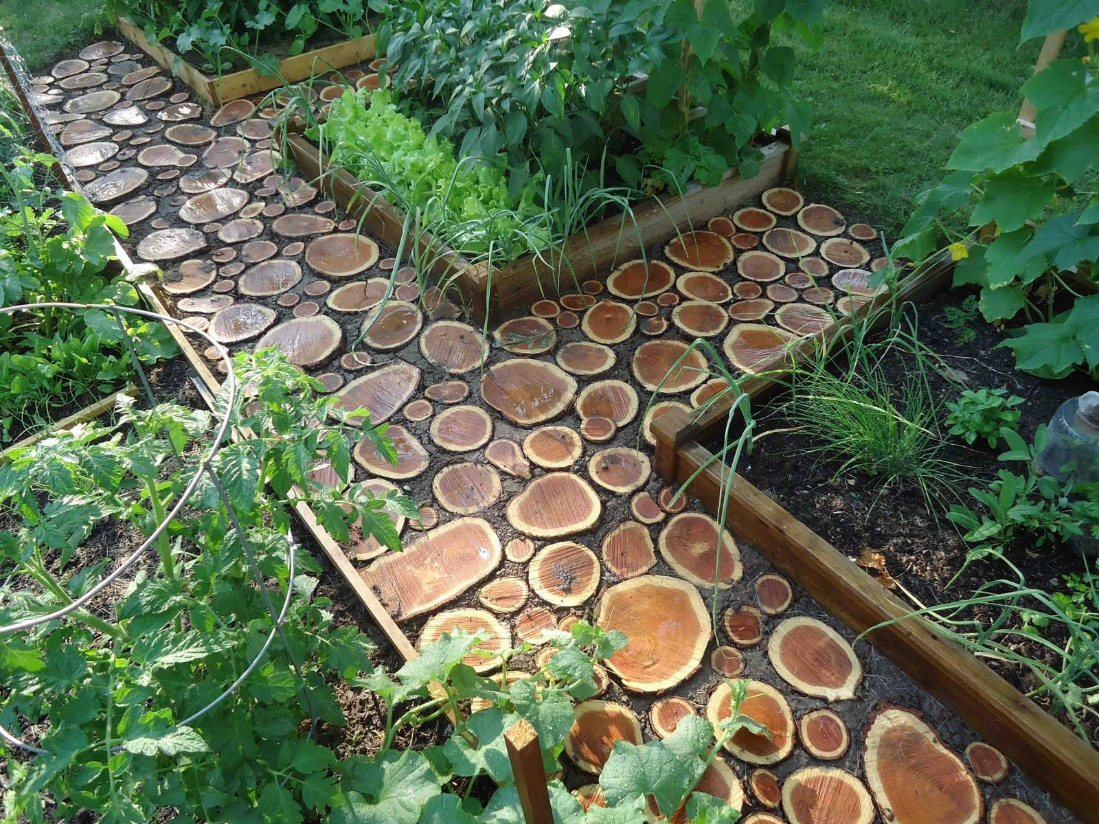 Amazing Diy Garden Paths Walkways