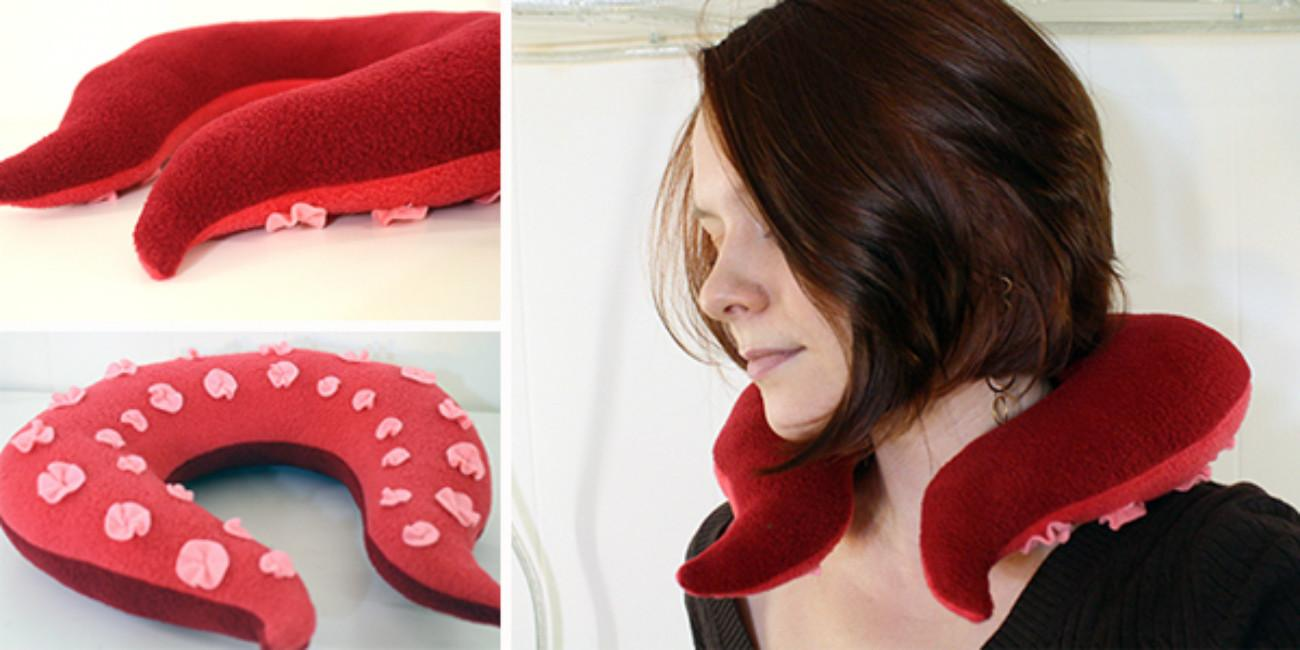 Amazing Diy Neck Pillows Travelling Simply Relaxing