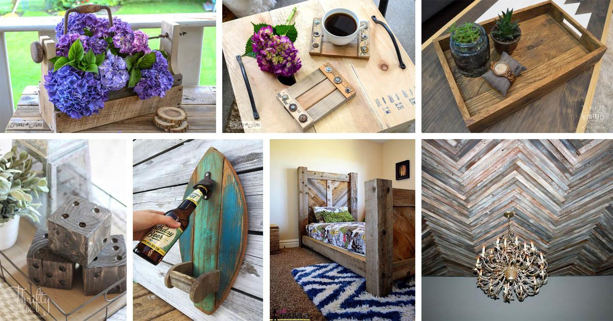 Amazing Diy Reclaimed Wood Projects Transform