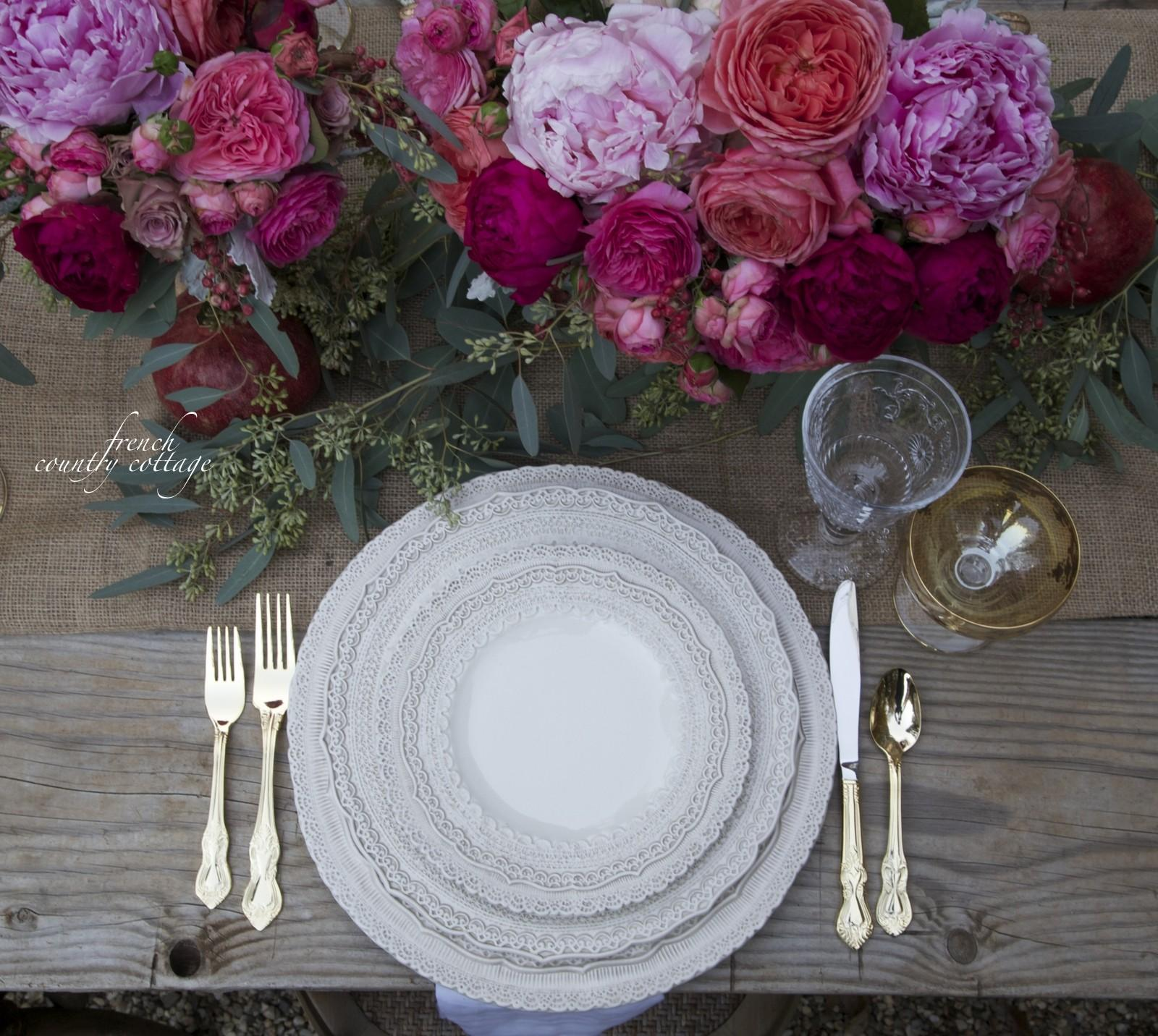 Amazing Elegant Mothers Day Brunch Buffet Style Table