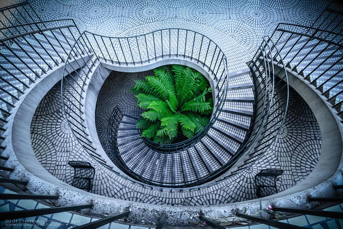 Amazing Examples Spiral Staircase Photography