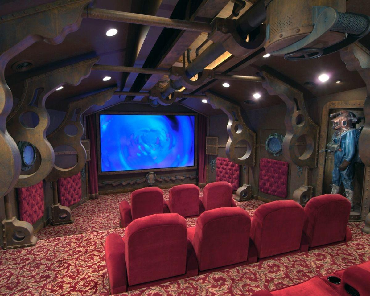Amazing Geek Home Theaters Homes Hues