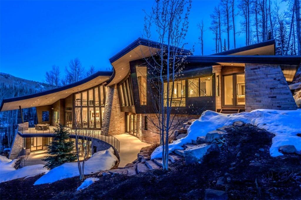 Amazing Mountain Contemporary Homes Utah Summit