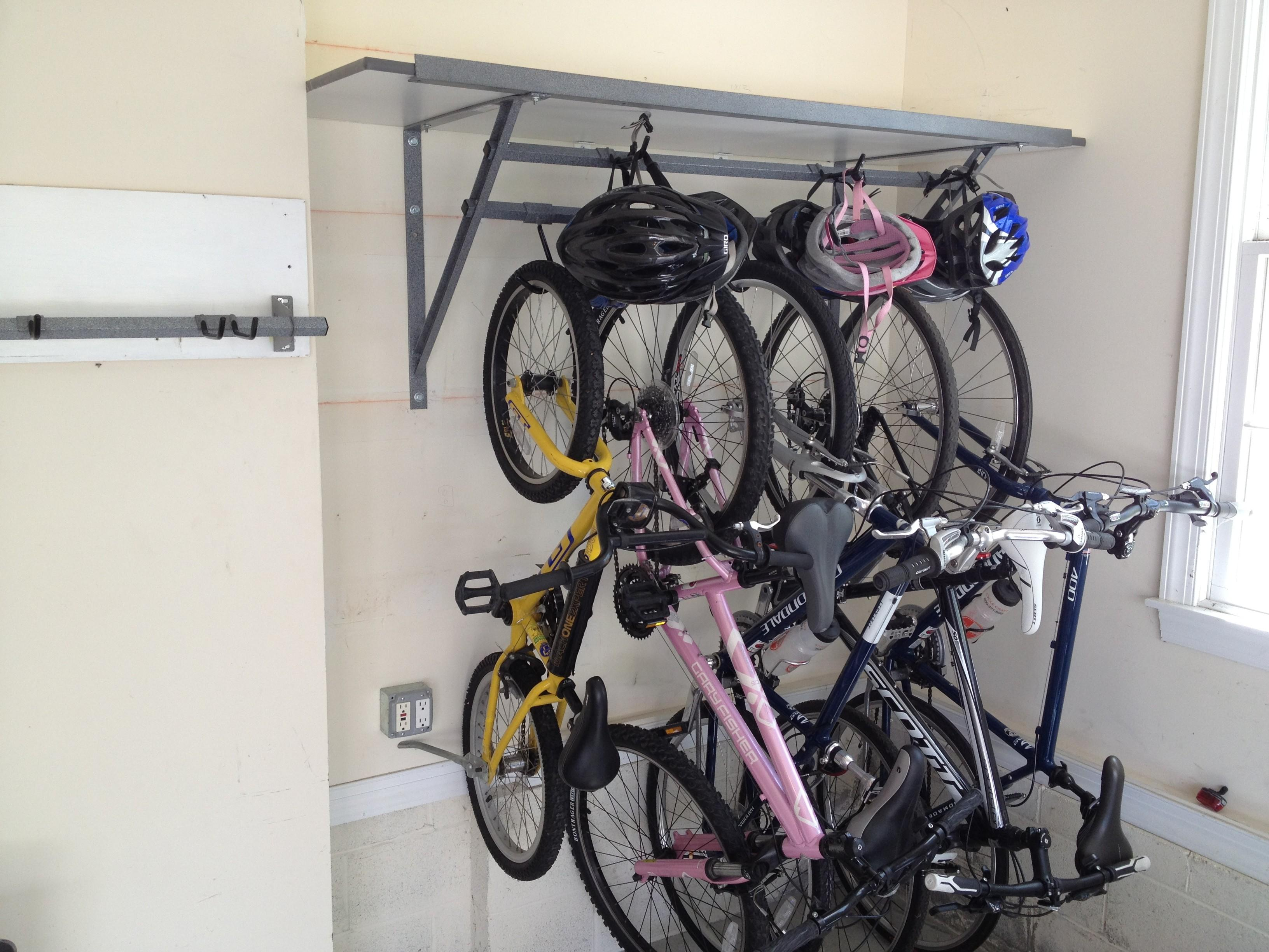 Amazing Nice Garage Bike Storage Ideas Wall