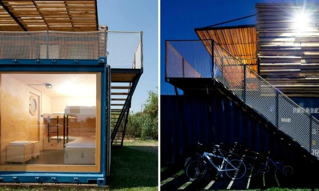 Amazing Shipping Container Hotel Can Pop Anywhere