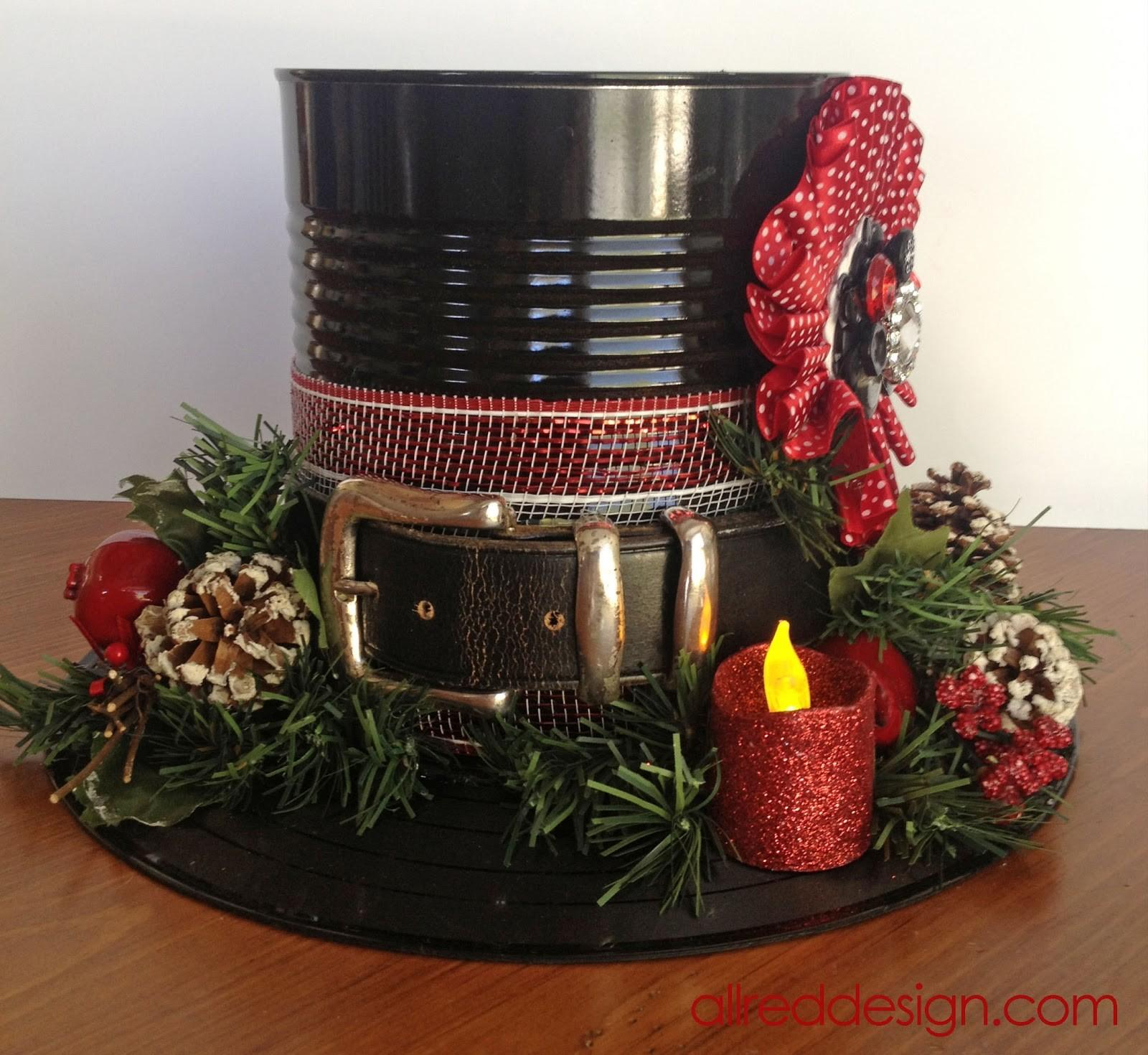 Amazing Tin Can Christmas Crafts