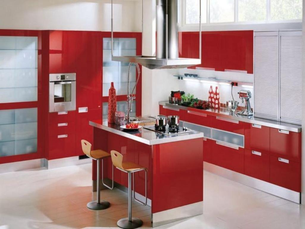 Amazing Value Red Kitchen Cabinets Home Design Journey