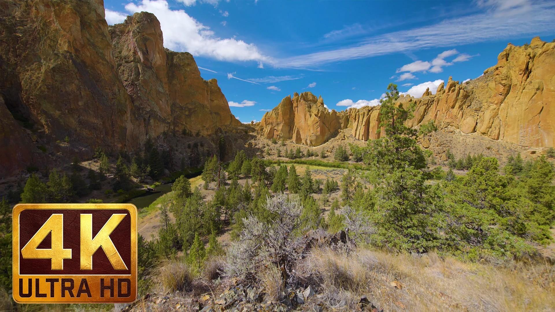 Amazing Views Smith Rock State Park Nature